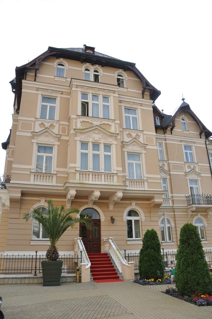 Отель Savoy Westend в Карловых Варах. Вилла Клеопатра