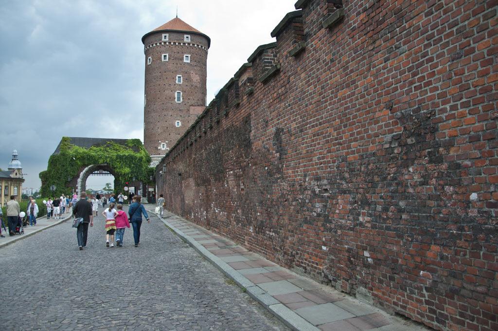 Вавельский Королевский замок в Кракове