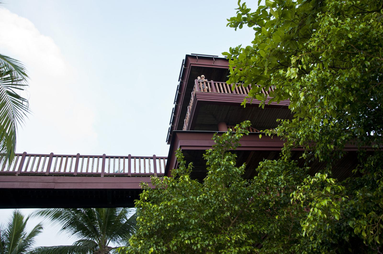 Смотровая башня на самой южной точке континентальной Азии