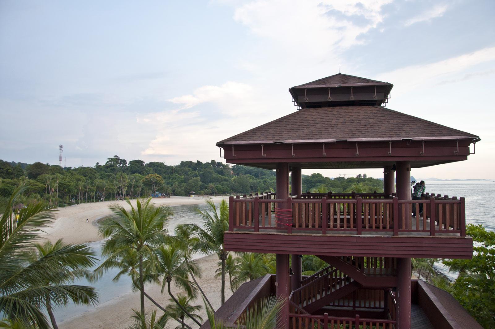 Смотровые башни на самой южной точке континентальной Азии