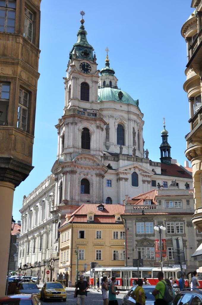 Здания на улицах Праги