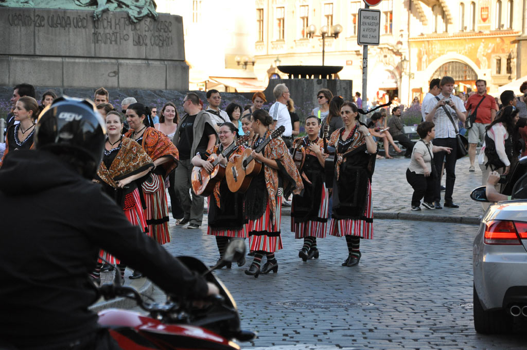 Костюмированное шествие в Праге