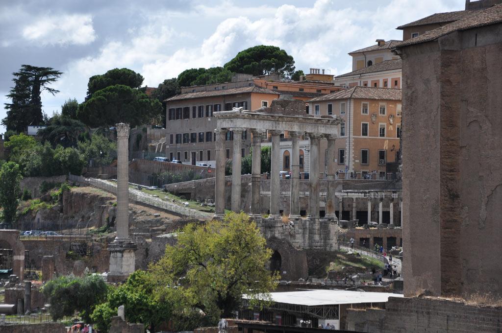 Развалины Храма Юпитера