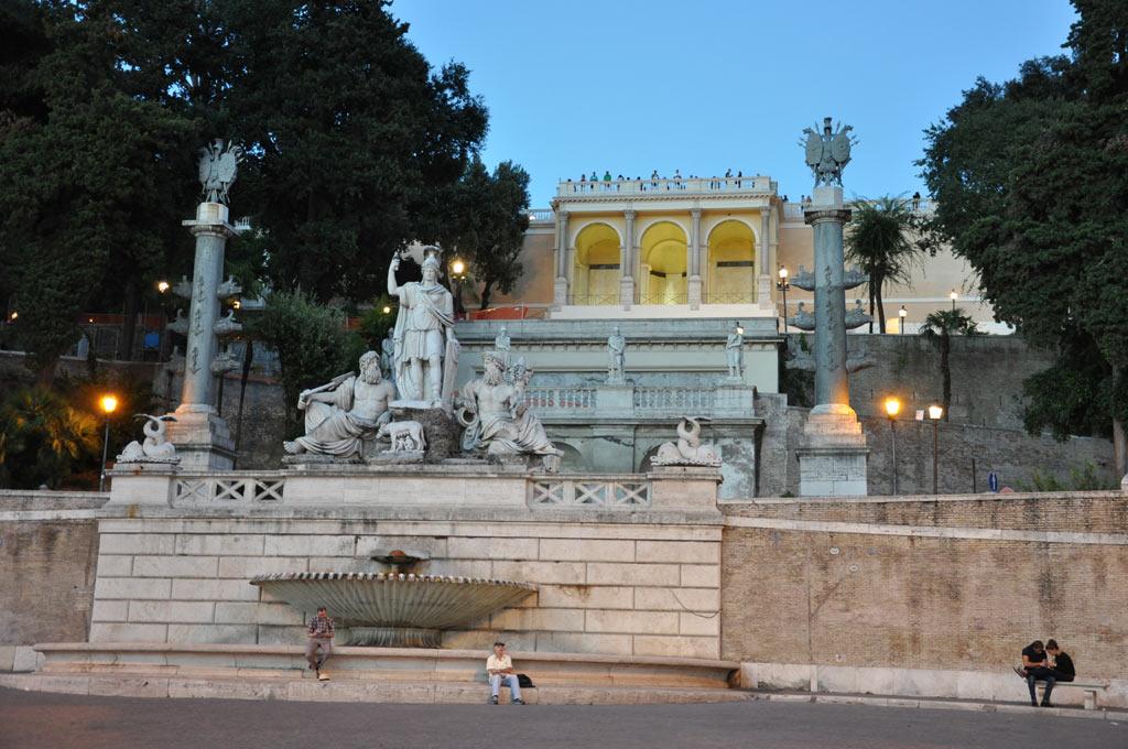 Пьяцца де Поппола в Риме