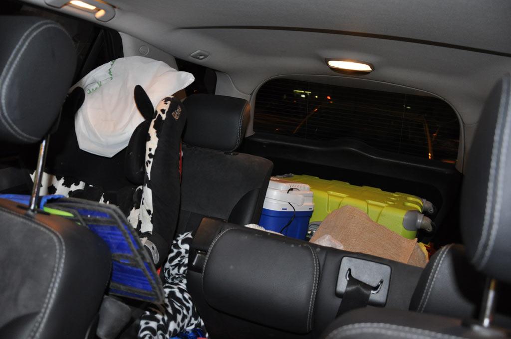 Бардак внутри машины