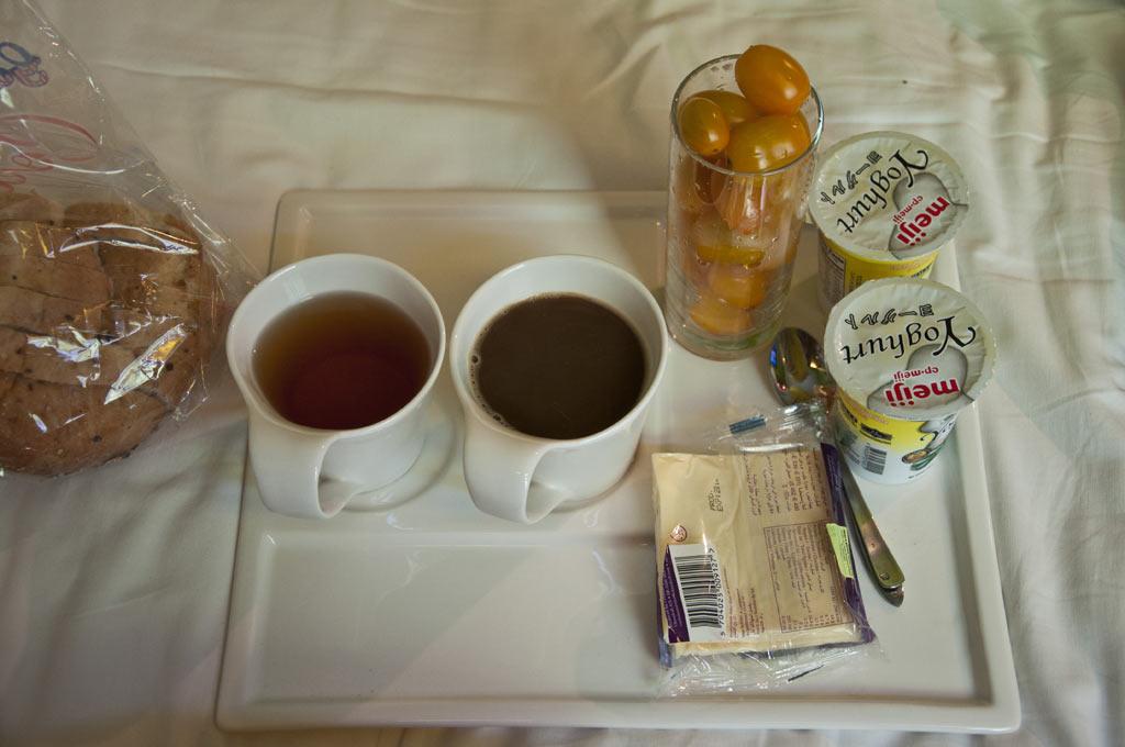 Завтрак в отеле Re! в Сингапуре