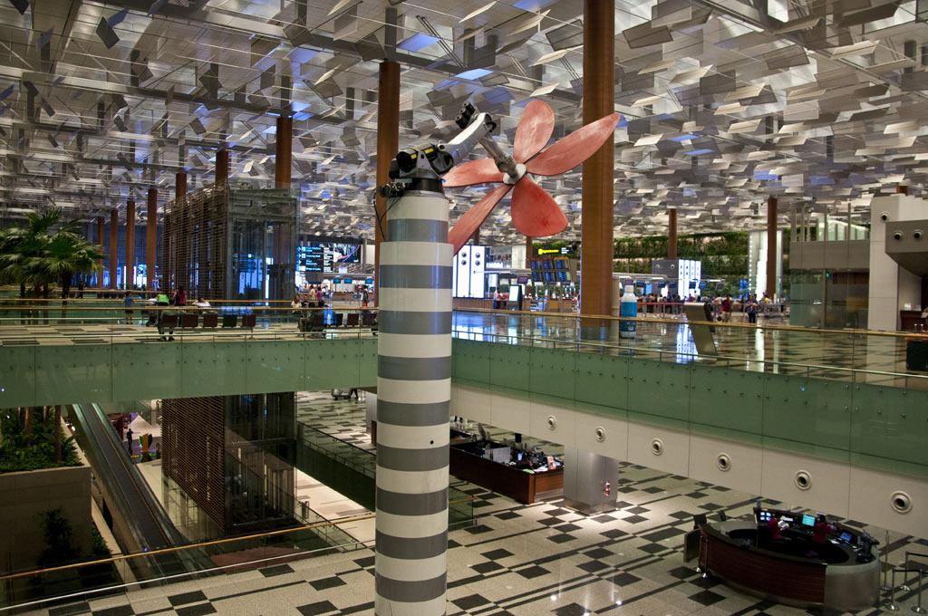Аэропорт Чанги в Сингапуре
