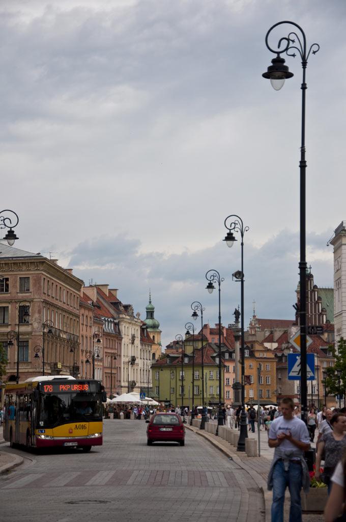 Варшава. Старый город