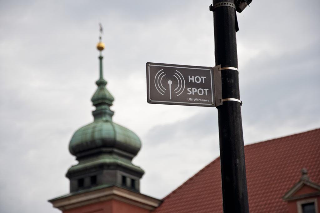 Публичный вайфай в Варшаве
