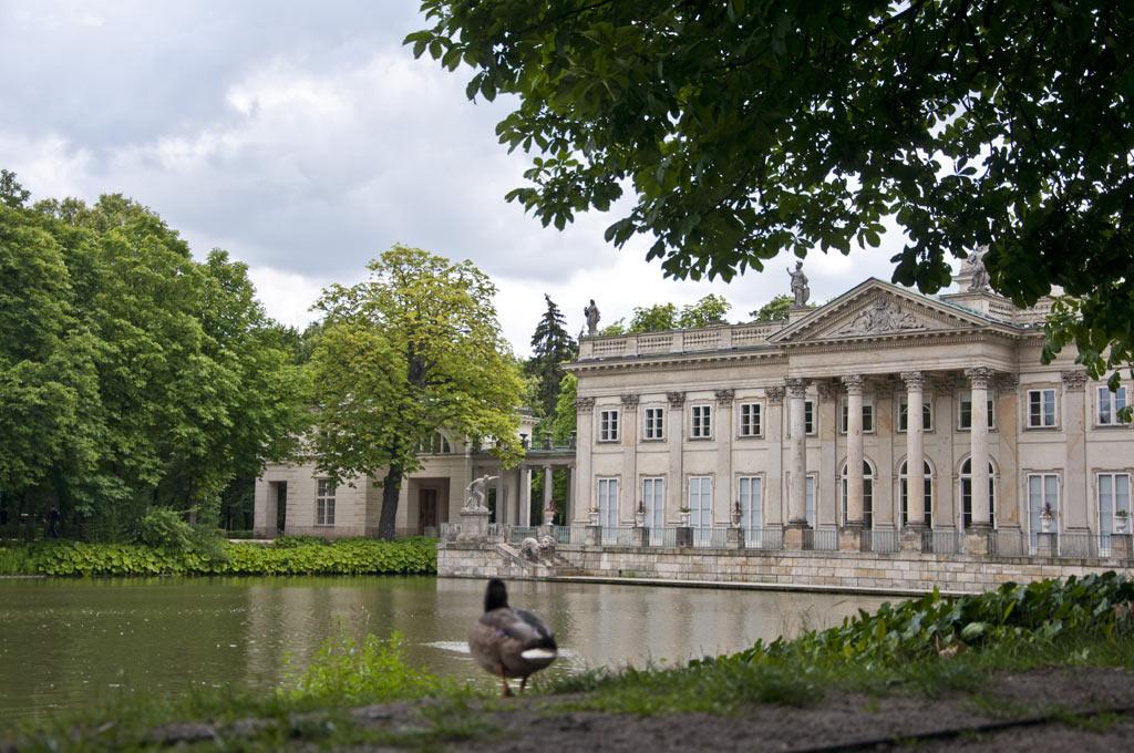 Дворец на острове в Варшаве