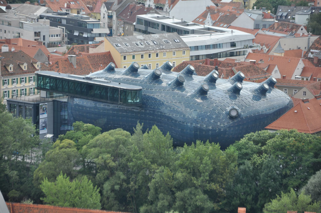 Музей современного искусства Кунстхаус в Граце