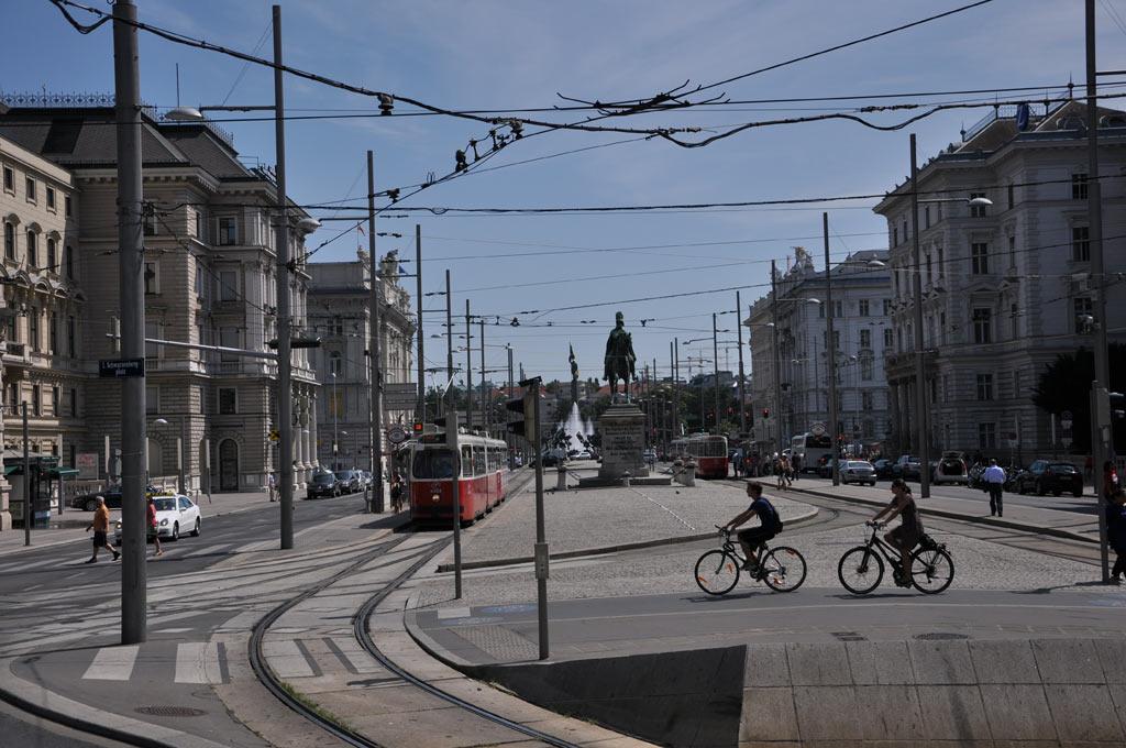 Велосипедисты в Вене