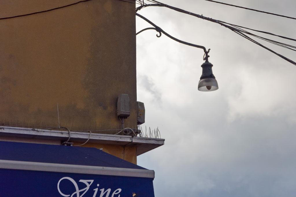 Шипы для защиты от голубей в Венеции