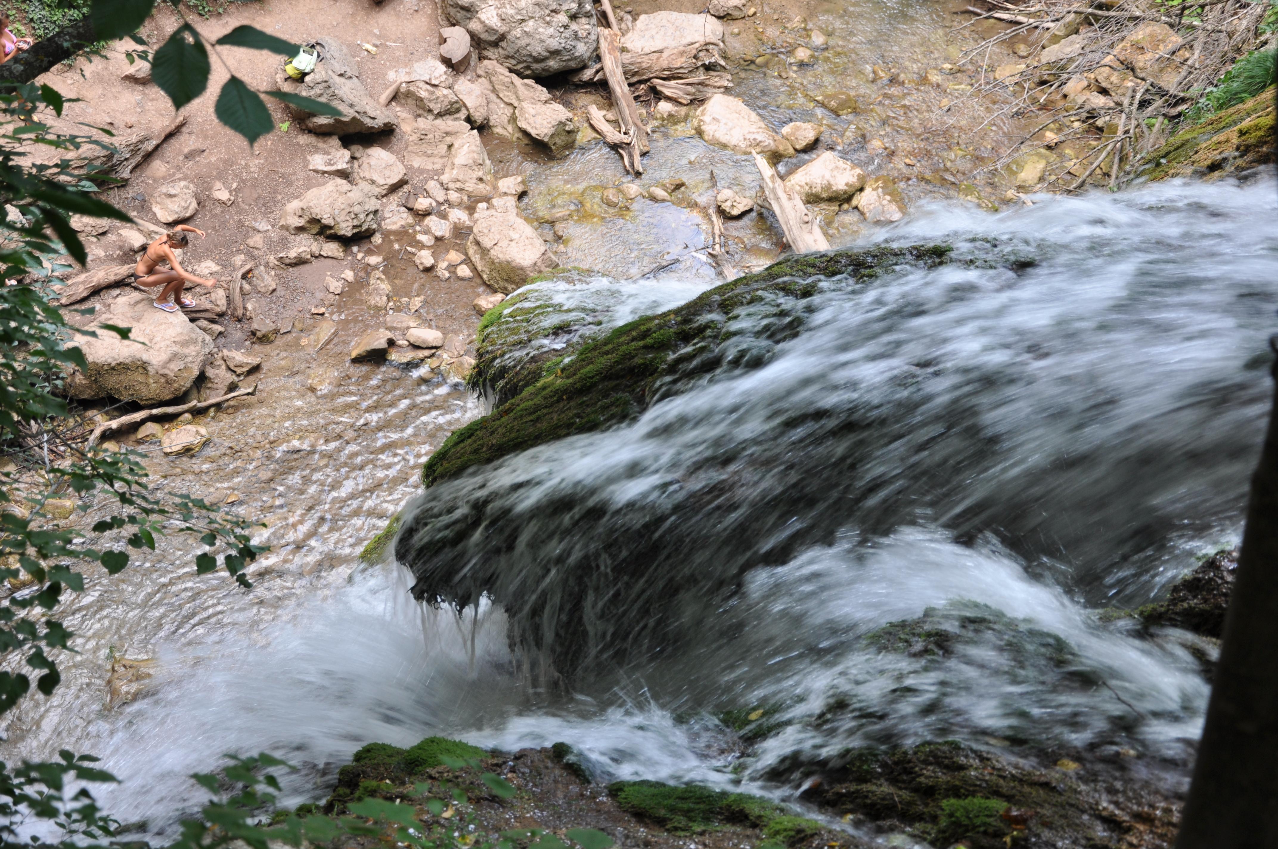 Водопад Джур-джур, вид сверху