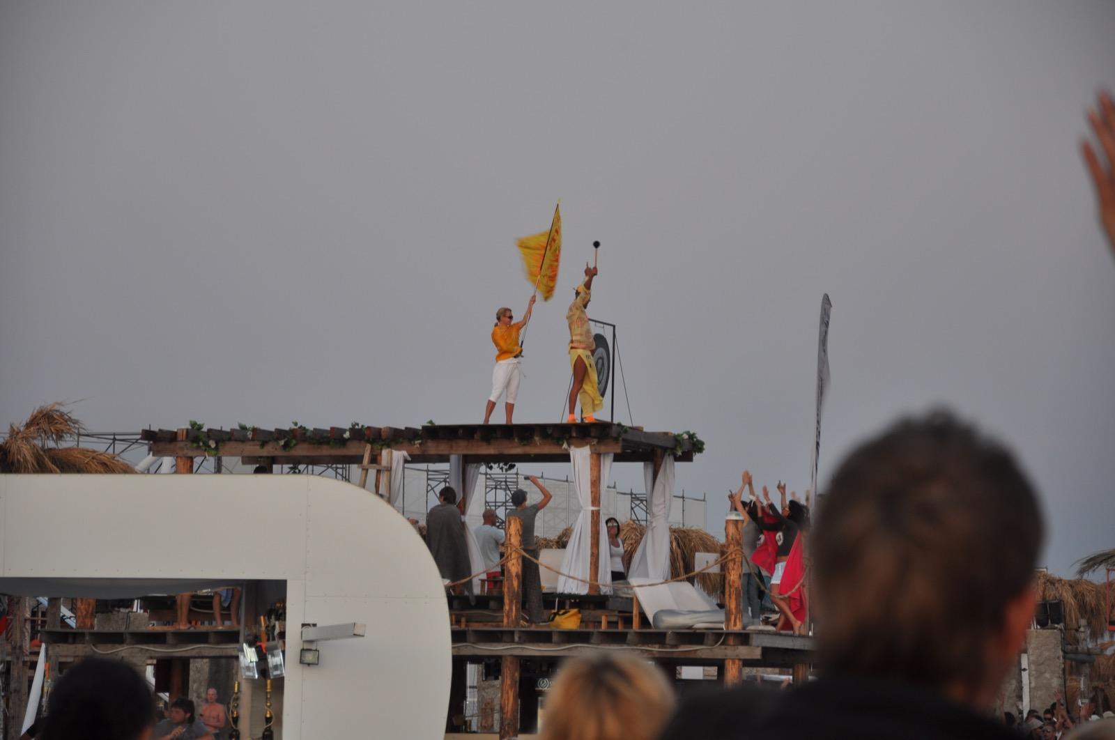 Ритуал провожания Солнца на Казантипе