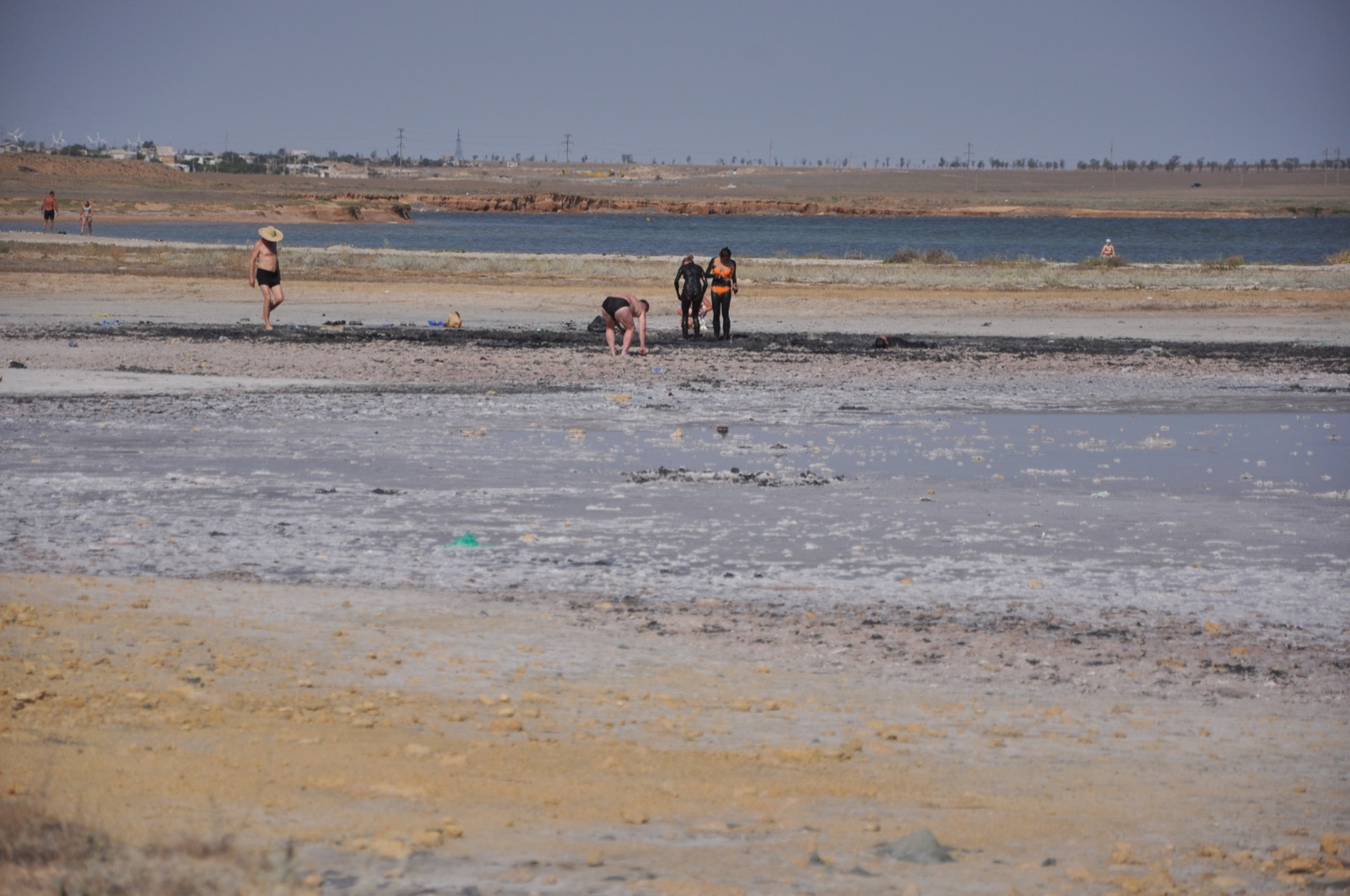 Лечебные грязи Казантипа