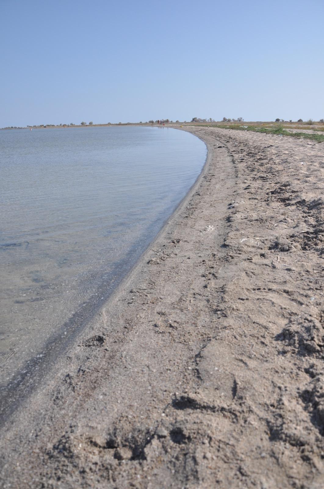 Озеро с голубой глиной рядом с Казантипом