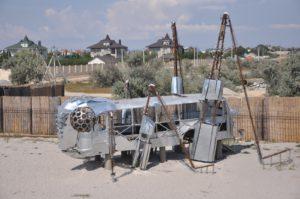 Инопланетные инсталляции на Казантипе