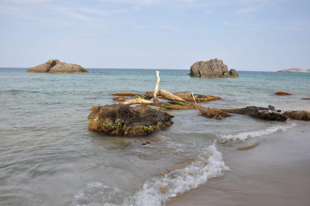 Пляж Агуа Бланка на Ибице