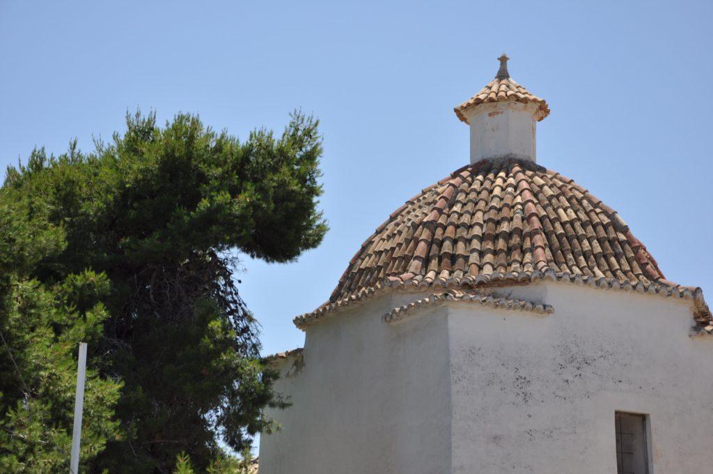Купол в крепости в Ивисе