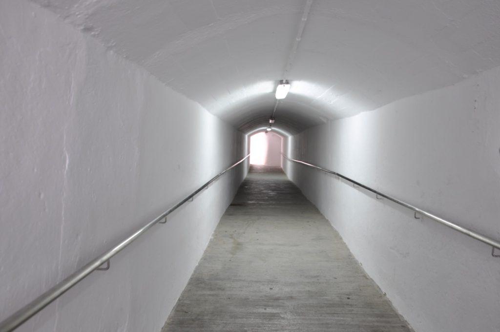 Туннель в крепости